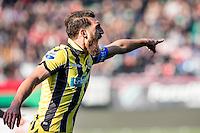 NIJMEGEN - NEC - Vitesse , Voetbal , Eredivisie , Seizoen 2016/2017 , Stadion de Goffert , 23-10-2016 , Vitesse speler Guram Kashia
