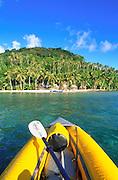 Kayak, Namua Island, Upolu, Samoa<br />