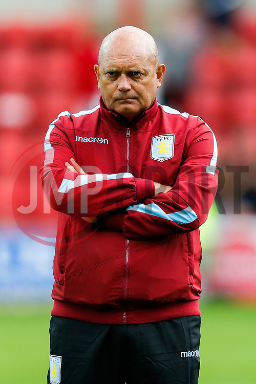 Aston Villa assistant manager Ray Wilkins looks on - Mandatory byline: Rogan Thomson/JMP - 07966 386802 - 21/07/2015 - SPORT - Football - Swindon, England - The County Ground - Swindon Town v Aston Villa - 2015/16 Pre Season Friendly.