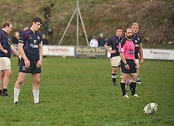 Westport's Sean Tobin kicked the equalising penalty against Connemara.<br /> Pic Conor McKeown