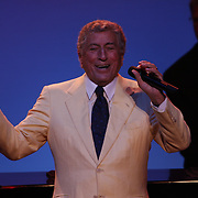 Tony Bennett and his band are the main event  at the Ravinia Festival in Highland Park, Ill. August 28, 2009. Ravinia Festival is the oldest outdoor music festival in the United States, with a series of outdoor concerts and performances held every summer. Photography by Jose More