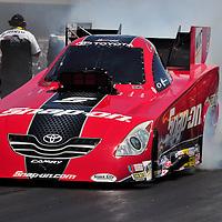 Cruz Pedregon at Full throttle drag racing series, National Hot Rod Association 2011