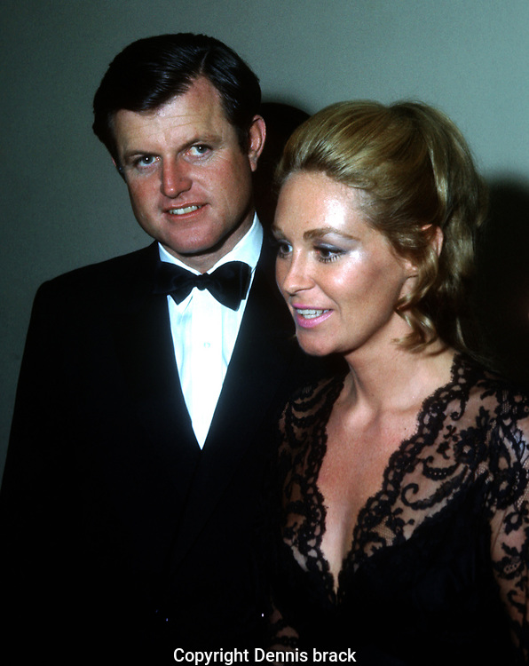 Philadelphia, PA 1970/10/13  Ted and Joan Kennedy at a piano concert where Joan Kennedy performed <br /><br />Photo by Dennis Brack