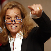 New Rochelle, NY / 2009 - Kerry Kennedy was the guest speaker at a Democratic Party fundraiser at the VIP Club in New Rochelle. The event was attended by Gov. David Paterson to try to solidify supporters in Westchester County for a possible primary battle against Andrew Cuomo. ( Mike Roy / The Journal News )