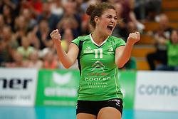 20180509 NED: Eredivisie Coolen Alterno - Sliedrecht Sport, Apeldoorn<br />Kristy Beyazkaya (11) of Coolen Alterno<br />©2018-FotoHoogendoorn.nl