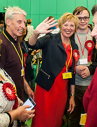 Succesful Labour candidate in Kirkcaldy &amp; Cowdenbeath constituency Lesley Laird celebrates after taking the seat back from the SNP.<br /> &copy; Dave Johnston/ EEm