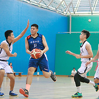 2016 National B Div Bball: Catholic High vs Woodgrove