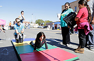 October 29, 2017: Open Streets OKC takes place on South Robinson Avenue just south of downtown Oklahoma City, Oklahoma.