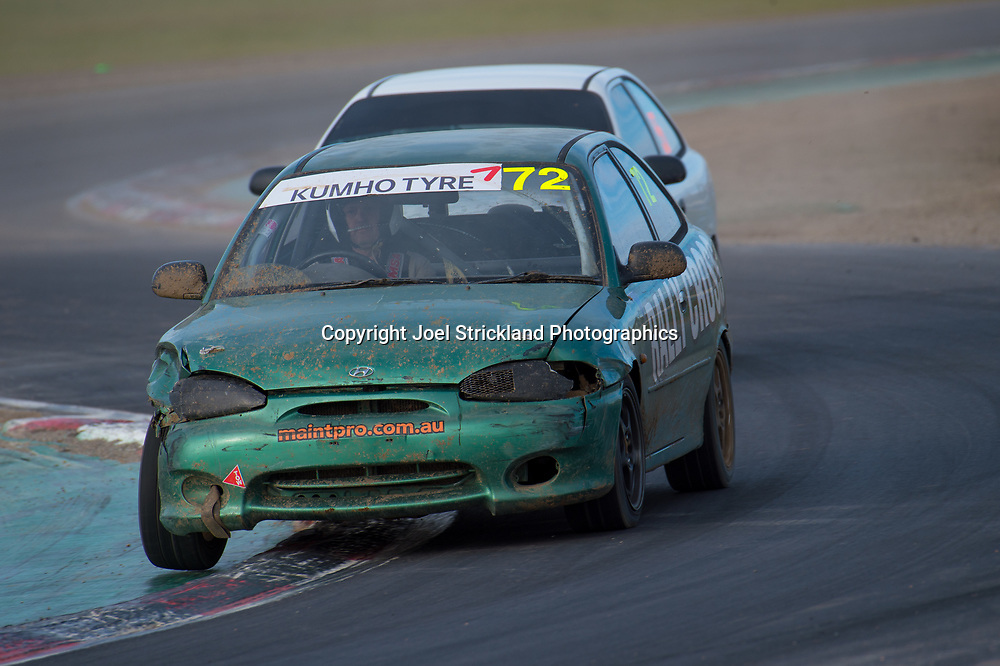 Ronnie Bustard - Hyundai Excel - Rallycross Australia - Winton Raceway - 16th July 2017