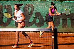 Tennis senior league finals in Sport park Kranj, 15th of September, 2019, Kranj, Slovenija. Photo by Grega Valancic / Sportida