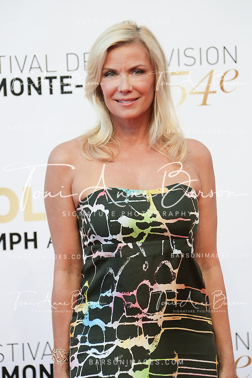 MONTE-CARLO, MONACO - JUNE 11:  Katherine Kelly Lang attends the Closing Ceremony and Golden Nymph Awards of the 54th Monte Carlo TV Festival on June 11, 2014 in Monte-Carlo, Monaco.  (Photo by Tony Barson/FilmMagic)