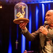 NLD/Amsterdam/20180917 - Uitreiking de Gouden Notenkraker 2018, Leo Blokhuis met de Humble Hero Award
