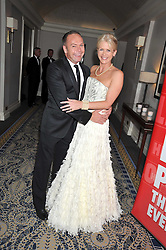 CHARLOTTE STOCKTING and HOWARD SHAUGHNESSY at the Matterhorn Challenge Ball in aid of Combat Stress as part of their 90th anniversary celebrations held at The Berkeley Hotel, London on 11th June 2009.