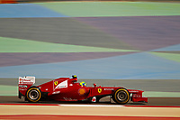 MOTORSPORT - F1 2012 -  BAHRAIN GRAND PRIX - SAKHIR (BHR) - 19 TO 22/04/2012 - PHOTO : FRANÇOIS FLAMAND / DPPI - <br /> MASSA FELIPE (BRA) - FERRARI F2012 - ACTION