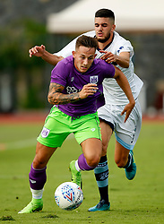 Josh Brownhill of Bristol City attacks - Mandatory by-line: Matt McNulty/JMP - 22/07/2017 - FOOTBALL - Tenerife Top Training - Costa Adeje, Tenerife - Bristol City v Atletico Union Guimar  - Pre-Season Friendly