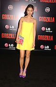 May 8, 2014 - Los Angeles, California, U.S. - <br /> <br /> The Los Angeles Premiere of ''Godzilla''<br /> <br /> Jamie Chung  attending the Los Angeles Premiere of ''Godzilla'' held at the Dolby Theatre in Hollywood, California on May 8, 2014. 2014<br /> ©Exclusivepix