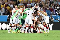 FUSSBALL WM 2014                FINALE Deutschland - Argentinien     13.07.2014 Jubel der deutschen Mannschaft