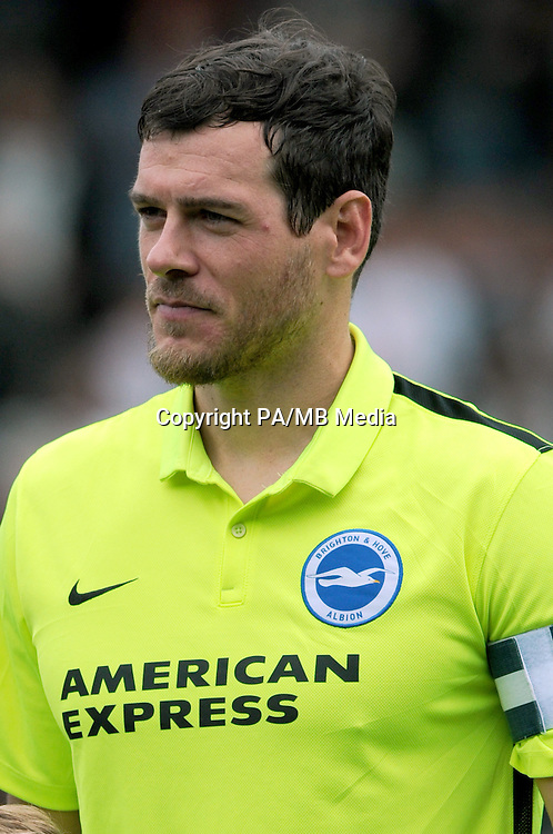 Brighton and Hove Albion's Gordon Greer