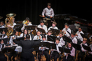 Students perform during a Winter Concert at Lanier Middle School, December 18, 2013.