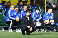 Picture by Paul Chesterton/Focus Images Ltd.  07904 640267.21/01/12.Chelsea Manager Andre Villas-Boas during the Barclays Premier League match at Carrow Road Stadium, Norwich.