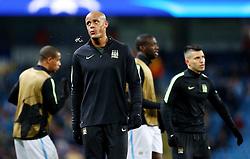 Vincent Kompany of Manchester City  - Mandatory byline: Matt McNulty/JMP - 15/03/2016 - FOOTBALL - Etihad Stadium - Manchester, England - Manchester City v Dynamo Kyiv - Champions League - Round of 16