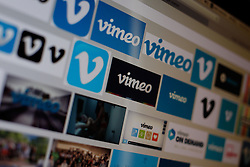 October 20, 2016 - Bydgoszcz, Poland - Vimeo to start renting and selling TV Shows and Movies. In a bid to start competing with iTunes and Netflix video hosting site is starting a service for renting and selling movies and TV shows. (Credit Image: © Jaap Arriens/NurPhoto via ZUMA Press)
