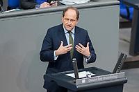 21 MAR 2019, BERLIN/GERMANY:<br /> Alexander Graf Lambsdorff, MdB, FDP, haelt eine Rede, Bundestagsdebatte zur Regierungserklaerung der Bundeskanzlerin zum Europaeischen Rat, Plenum, Deutscher Bundestag<br /> IMAGE: 20190321-01-109