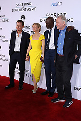 "Greg Kinnear, Renee Zellweger, Djimon Hounsou, Jon Voigt at the Paramount Pictures And Pure Flix Entertainment's ""Same Kind Of Different As Me"" Premiere held at the Westwood Village Theatre on October 12, 2017 in Westwood, California, USA (Photo by Art Garcia/Sipa USA)"