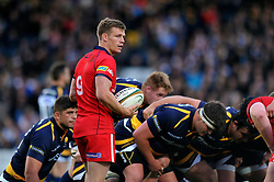 Dwayne Peel of Bristol Rugby - Photo mandatory by-line: Patrick Khachfe/JMP - Mobile: 07966 386802 27/05/2015 - SPORT - RUGBY UNION - Worcester - Sixways Stadium - Worcester Warriors v Bristol Rugby - Greene King IPA Championship Play-off Final (Second leg)