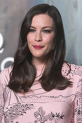 © Licensed to London News Pictures. 26/04/2017. London. LIV TYLER attends the Omega party celebrating 60 Years of the Speedmaster watch. Photo credit: Ray Tang/LNP