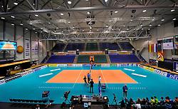 12-06-2011 VOLLEYBAL: EUROPEAN LEAGUE NETHERLANDS - AUSTRIA: ROTTERDAM<br /> Overview Rotterdam Topsportcentrum / court behind scorers table<br /> &copy;2011-FotoHoogendoorn.nl