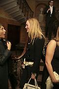 Maddy Platt.  Westfield Launch and BFC celebrate Fashion Forward. Home House, Portman Sq. London. 30 January 2007.  -DO NOT ARCHIVE-© Copyright Photograph by Dafydd Jones. 248 Clapham Rd. London SW9 0PZ. Tel 0207 820 0771. www.dafjones.com.