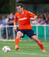 Shaun Whalley of Luton Town during the Pre Season Friendly match at Top Field, Hitchin<br /> Picture by David Horn/Focus Images Ltd +44 7545 970036<br /> 17/07/2014