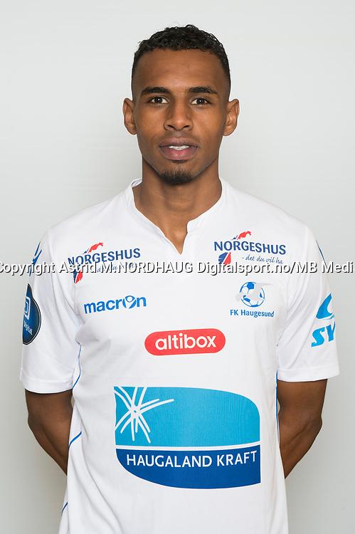 Fotball , Eliteserien 2017 , portrett , portretter , Haugesund , Liban Abdi Ali
