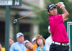 June 1, 2018 - Dublin, Ohio, U.S. - Hideki Matsuyama during the second round of the Memorial Tournament at Muirfield Village Golf Club. (Credit Image: © Jason Mowry/Icon SMI via ZUMA Press)
