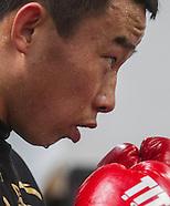 Boxing: Chinese boxer Yang Lianhui