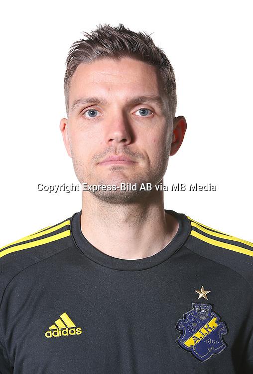 Jos Hooiveld<br /> Halvfigur<br /> @Leverans<br /> Allsvenskan 2016<br /> Fotboll