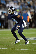 Tennessee Titans free safety Kevin Byard (31) chases the action during the week 14 regular season NFL football game against the Jacksonville Jaguars on Thursday, Dec. 6, 2018 in Nashville, Tenn. The Titans won the game 30-9. (©Paul Anthony Spinelli)