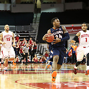 Rayvonte Rice #24 of the Illinois Fighting Illini drives to the basket for a breakaway layup during the NIT First Round game at Agganis Arena on March 19, 2014 in Boston, Massachusetts . (Photo by Elan Kawesch)