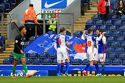 Danny Graham of Blackburn Rovers celebrates after scoring his sides first goal  - Mandatory by-line: Matt McNulty/JMP - 23/04/2016 - FOOTBALL - Ewood Park - Blackburn, England - Blackburn Rovers v Bristol City - Sky Bet Championship