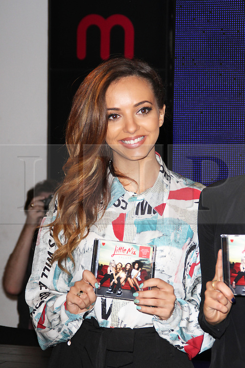 Jade Thirlwall, Little Mix: Salute Album Signing, HMV Oxford Circus, London UK, November 11 2013, Photo by Brett Cove © Licensed to London News Pictures. Photo credit : Brett D. Cove/Piqtured/LNP
