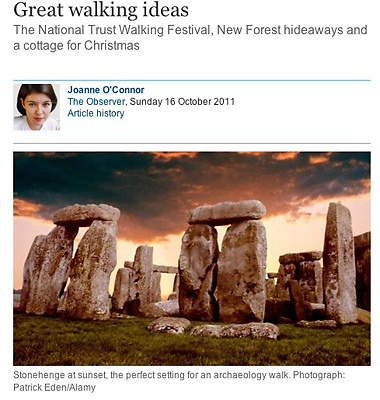 Stonehenge, Wiltshire,  The Guardian, © Patrick Eden,