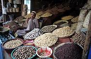 Pakistan  Karachi  1986..A store of spice..
