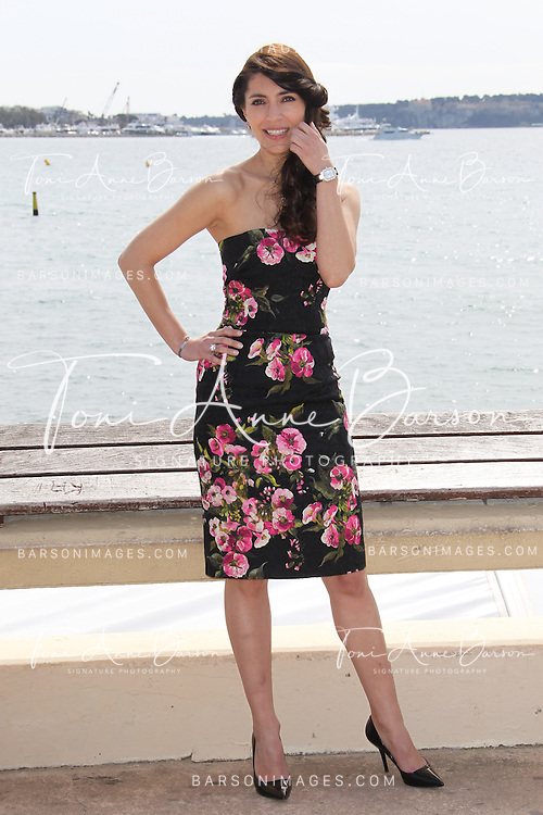 CANNES, FRANCE - APRIL 09:  Caterina Murino attends The Odyssee' Photocall  on the Croisette on April 9, 2013 in Cannes, France.  (Photo by Tony Barson/Getty Images)