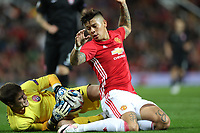 Football - 2016 / 2017 UEFA Europa League Manchester United v FC Zorya Luhansk at Old Trafford <br /> <br /> Marcos Rojo of Manchester United<br /> <br /> COLORSPORT/LYNNE CAMERON