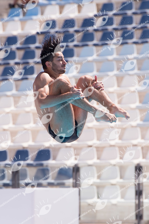 TOCCI Giovanni Centro Sportivo Esercito<br /> 1m springboard trampolino men preliminary<br /> Stadio del Nuoto, Roma<br /> FIN 2016 Campionati Italiani Open Assoluti Tuffi<br /> <br /> day 02 21-06-2016<br /> Photo Giorgio Scala/Deepbluemedia/Insidefoto