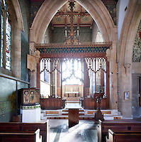 All Saints Church Cambridge by Bodley is cared for by the Churches Conservation Trust. It was designed by Bodley and has interior decoration by significant members of the Arts and Crafts movement, such as, William Morris, Burne-Jones, and Ford Madox Brown