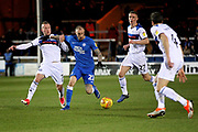Peterborough Utd forward Marcus Maddison (21) striding forward during the EFL Sky Bet League 1 match between Peterborough United and Rochdale at London Road, Peterborough, England on 12 January 2019.
