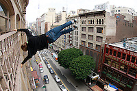 The Real SpiderMan Nicholas overlooks LA