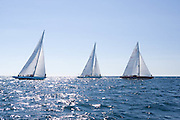 Weatherly, Columbia, American Eagle, Traditional class at the 12 Meter Class North American Championship